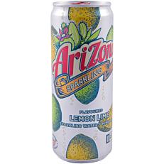 Νερό ARIZONA lemon lime ανθρακούχο (330ml)