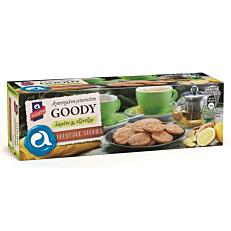 Μπισκότα GOODY με λεμόνι και τζίντζερ (185g)