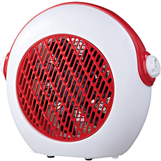 Αερόθερμο EUROLAMP Earpiece 2000W κόκκινο