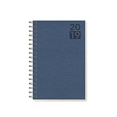 Ημερήσιο ημερολόγιο σπιράλ fibro 17x24cm