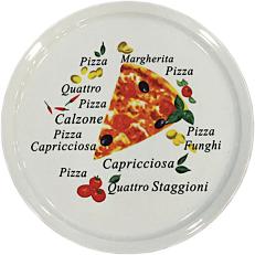 Πιάτο πίτσας πορσελάνης SILICE Me Deco Φ30cm
