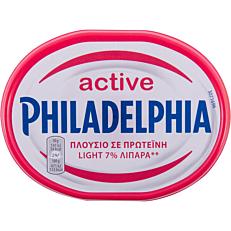 Τυρί αλειφόμενο PHILADELPHIA soft active protein (175g)