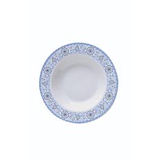Πιάτο βαθύ πορσελάνης Romantica Φ22cm