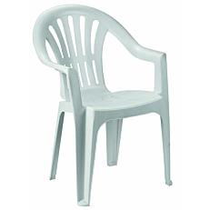 Καρέκλα kona λευκή 55x54x82cm