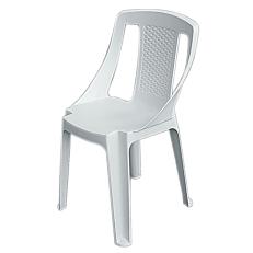 Καρέκλα procida λευκή 46x53x86cm