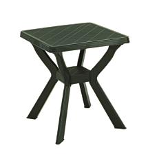 Τραπέζι τετράγωνο πλαστικό πράσινο 70x70x72cm