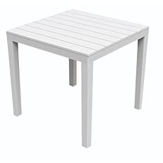 Τραπέζι λευκό 78x78x72cm