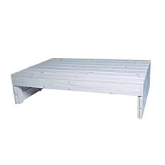 Τραπέζι παλέτα ξύλινο 80x120x31cm