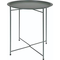 Τραπέζι πτυσσόμενο μεταλλικό ματ πράσινο 46x52cm