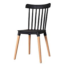 Καρέκλα America μαύρη