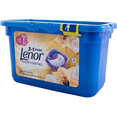 Απορρυπαντικό LENOR 3 σε 1 gold orchid πλυντηρίου ρούχων, σε υγρές κάψουλες (14τεμ.)