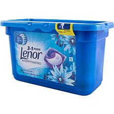 Απορρυπαντικό LENOR 3 σε 1 ocean escape πλυντηρίου ρούχων, σε υγρές κάψουλες (14τεμ.)