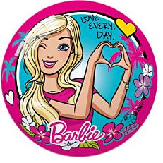 Μπάλα πλαστική Barbie love everyday 14cm
