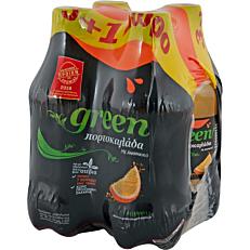 Αναψυκτικό GREEN πορτοκαλάδα 3+1ΔΩΡΟ (4x330ml)