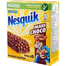Μπάρα δημητριακών NESQUIK maxi choco (6x25g)