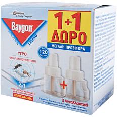 Αντικουνουπικό BAYGON υγρό (2x36ml)