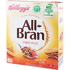 Δημητριακά KELLOGG'S All Bran Fiber plus (375g)