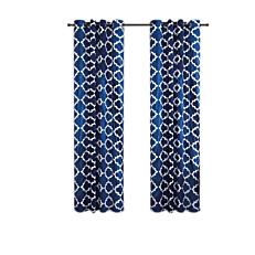 Κουρτίνα υψηλής σκίασης μπλε 140x260cm (2τεμ.)