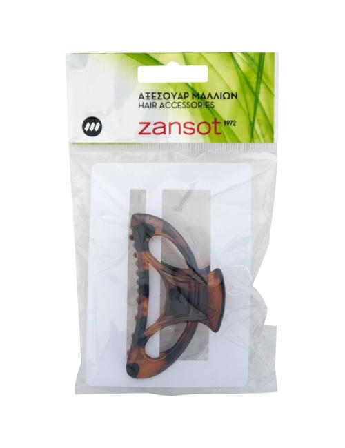 Κλάμερ μαλλιών zansot οβάλ classic μεγάλο (1τεμ.)  4b4a6418cd2